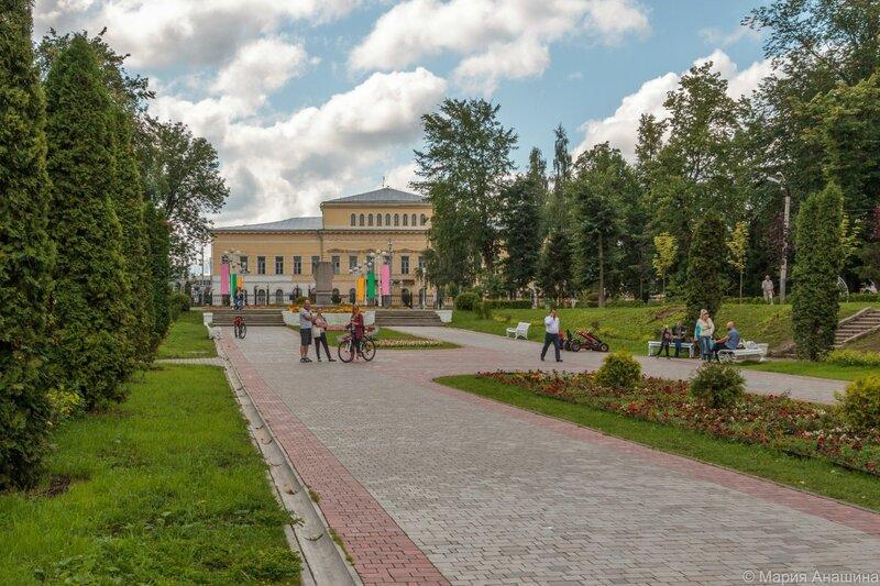 Городской сад, Гарнизонный дом офицеров, Тверь
