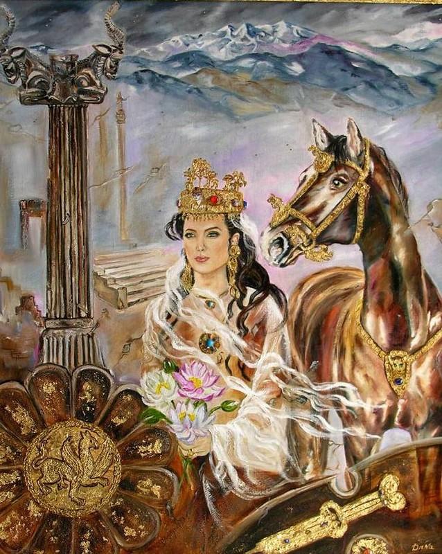 Коварная хозяйка Грузии. Царица Тамара использовала любимого мужа как… полководца