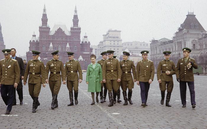 Советские пограничники даманской заставы